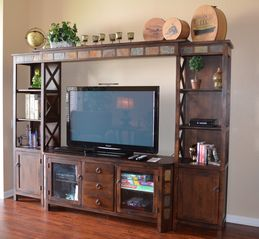 Orlando condo photo - Entertainment center - Flat-screen TV, Blu-ray DVD Player, Wii console and games