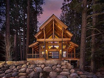 Donner Lake house rental - Architectural Beauty