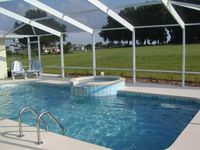 Golf Course Family Villa with pool, close to Manatee, Scallops and Beach