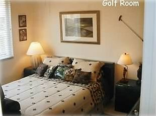 Wonderful Second Bedroom - the golf room