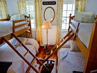 Chilmark house photo - Bedroom #3 - Bunk Room With Two Full/Twin Bunkbeds. Shared Full Bath With Tub/Shower