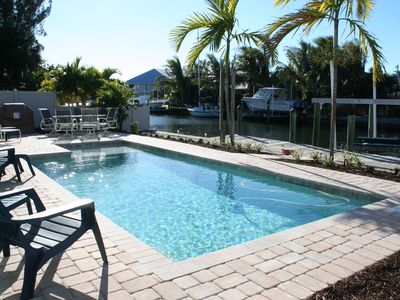 Heated Pool, Deep Water Dock, Grill and Walk to Beach