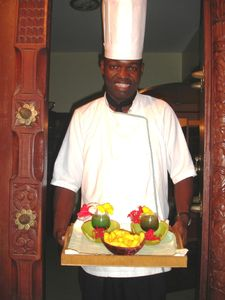 our cook is welcoming you