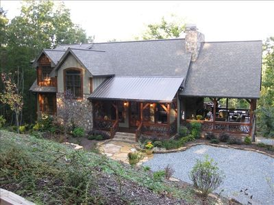 Blue Ridge house rental - Welcome to Amazing Grace Lodge