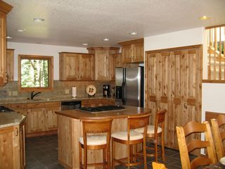 Blue River house photo - Fully equiped kitchen with every cooking amenity