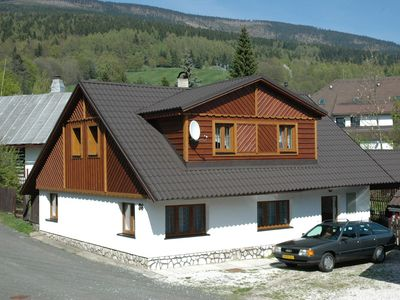 Holiday house 200 meters from the beautiful ski resort Cerny Dul