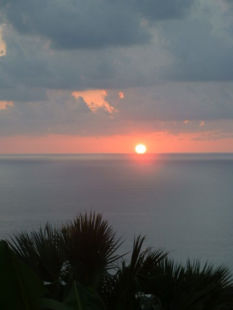 Enjoy beautiful sunsets at the Villa!