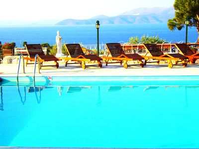 villa agnanti, Athe area, Greece, swimming pool