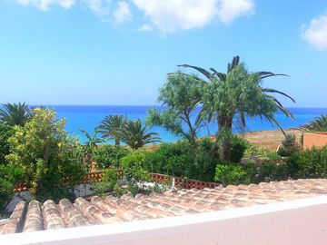 Porto de Mos villa rental - View from living room terrace