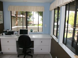 Keauhou house photo - work at your own desk with ocean view
