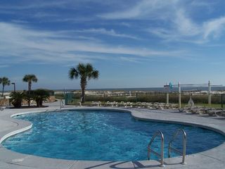Fort Morgan condo photo - Saltwater pool near our condo, no harsh chemicals!