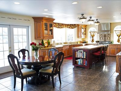 Tuscan, gourmet kitchen has everything you need to create delicious meals!