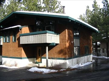 Mammoth Lakes townhome rental