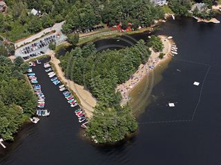 Moultonborough house photo - Nice view of the beach and marina