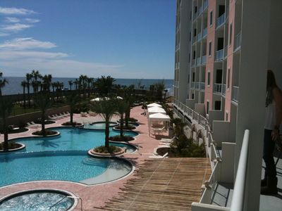 Galveston condo rental - West view from balcony