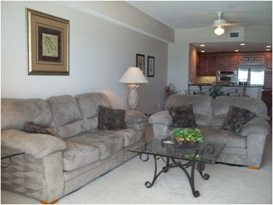 Port Orange condo rental - Living room