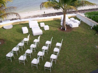 Puerto Morelos house rental - Wedding setup