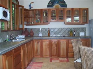 Jaco villa photo - Full kitchens with all amenities!
