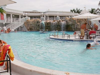 Key West yacht rental - Near by pool just buy drinks or lunch and swim free at a restaurant closeby.