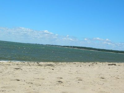Walk to beautiful Harding Beach on Nantucket Sound