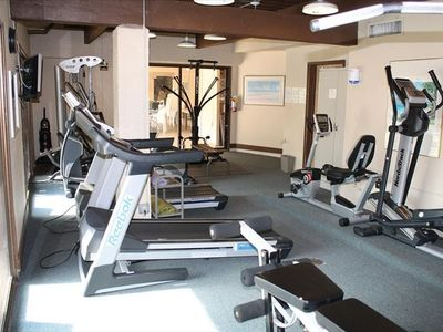 Air Conditioned Fitness Room