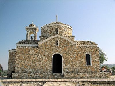 Elias church within driving distance of Ayia Napa