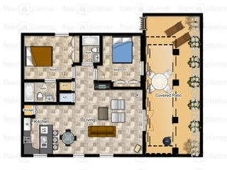 South Padre Island condo photo - Floor Plan