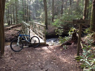 Bike or hike the beautiful Aska trails; just 4.5 miles away
