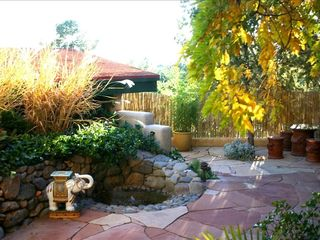 Sedona house photo - Front Patio View