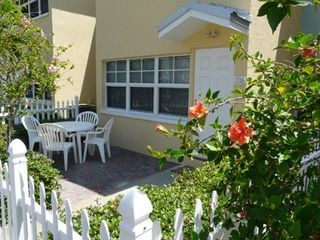 Indian Shores condo photo - Fenced in Sunny Private Patio