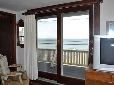 Marshfield house rental - master bedroom with view