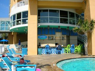 Splash Resort condo photo - Pool Area/Snack Bar