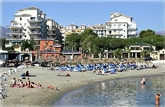 Beach front development is 5 minuites walk to marina Puerto Banus