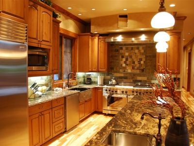 Professional Kitchen.  Best Suncadia Vacation Rental or Destination Wedding
