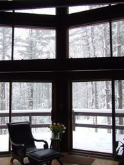 Ithaca lodge photo - Great Room/living room in winter