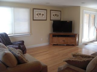 Wellfleet house photo - Family Room #2 - Great natural light and large flat screen tv