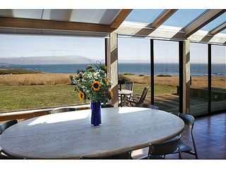 Sea Ranch house photo - View from the dining table.
