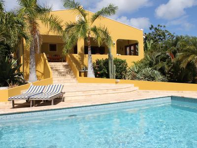 Bonaire villa with (child-friendly) private pool: 4 bedrooms, 3 bathrooms