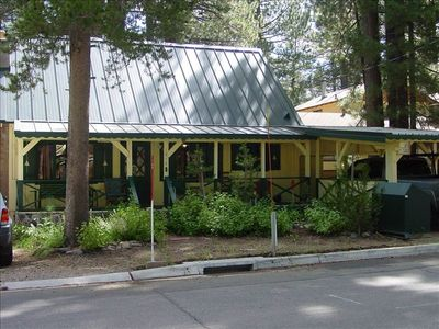 Sierra Tract cabin rental - Welcome to our cabin!