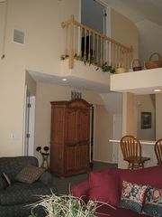 Branson condo photo - View of Juliet Balcony, open to Magnolia Bedroom
