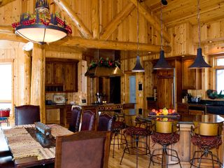 Longville cabin photo - Kitchen in Winter