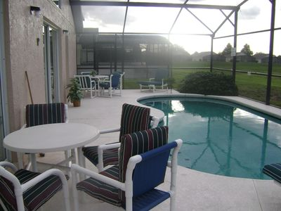 Westridge villa rental - Evening by the Pool