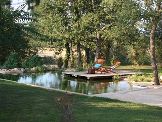 Barban villa photo - Biopool with relaxing deck