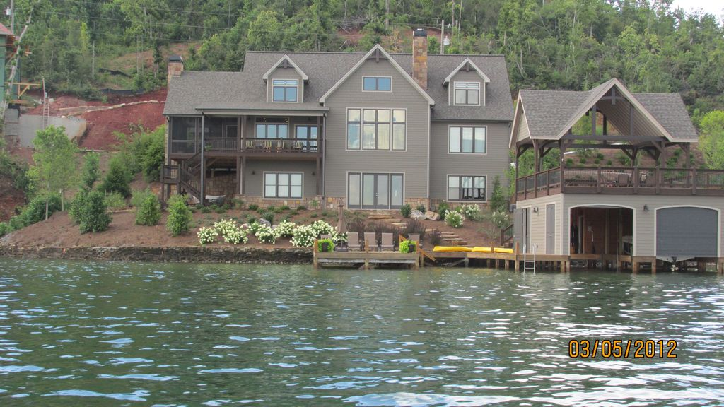 New Home On Lake Burton With Spectacular View Vrbo