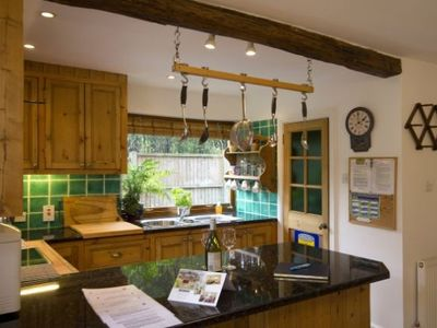 Kitchen, Woodpecker Cottage, Surrey