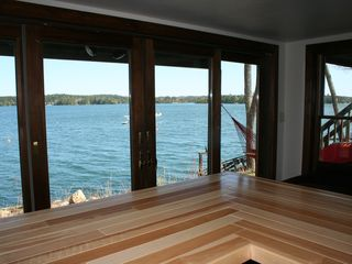 Harpswell house photo - view from bar