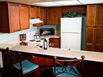 Kitchen at the Riviera Oaks Resort and Tennis Club