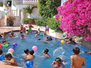 Acapulco villa photo - Our Annual Pool Party for 174 Orphan Children