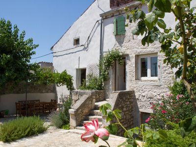 image for 2 x Istrian village stone houses rented as one unit, around a 200m2 courtyard.