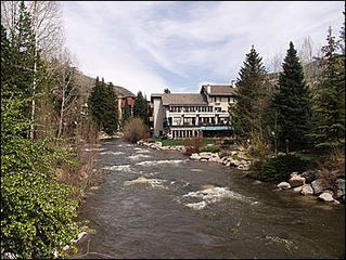 Vail townhome photo - Ideal Location - Center of Vail on Gore Creek
